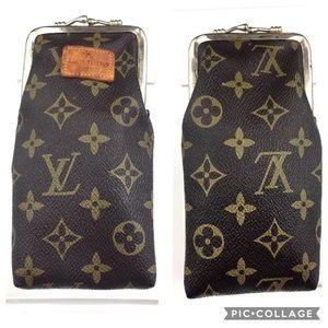Rare 1970's Louis Vuitton cigarette lipstick case